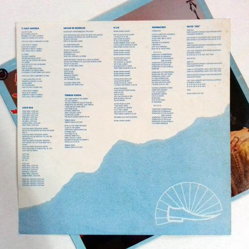 lp loco mia locomia taiyo disco de vinil pop latino encarte