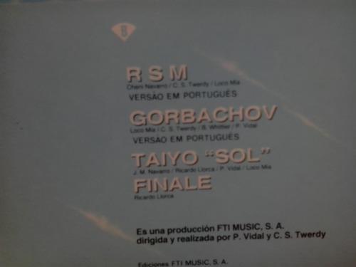 lp loco mia - taiyo c/encarte