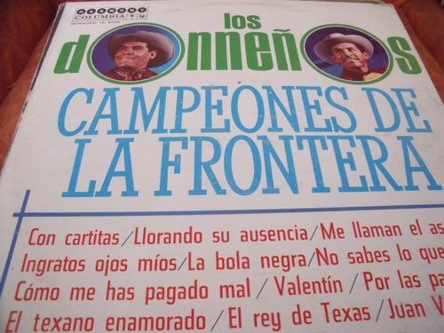 lp los donneños campeones de la frontera,