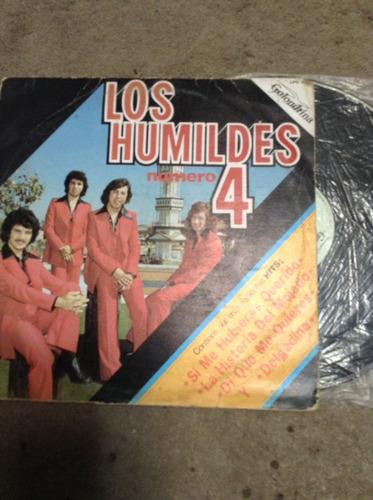 lp los humildes # 4
