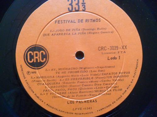 lp los palmeras festival de ritmos