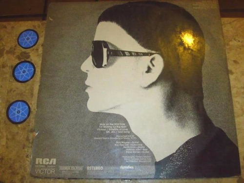 lp lou reed ( velvet underground ) - live (1975)