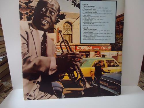 lp louis armstrong - gigantes dos jazz - com encarte (sl21)