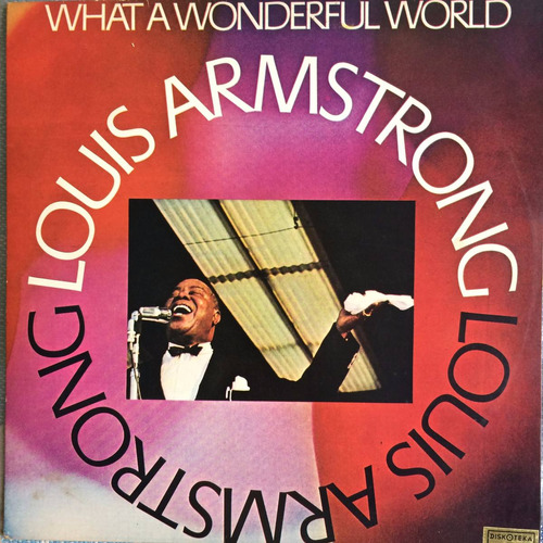 lp louis armstrong ( what a wonderful world )