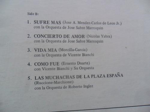 lp lucho gatica south american songs