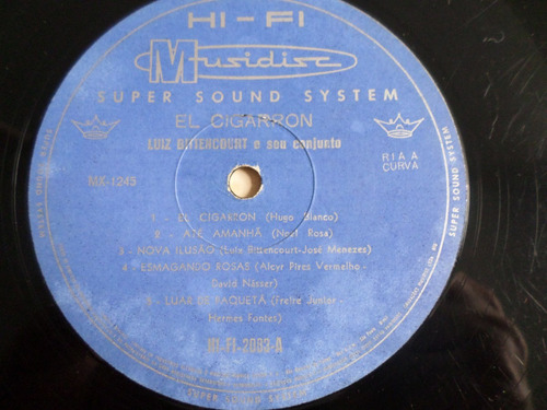 lp luiz bittencourt e seu conjunto - instrumental
