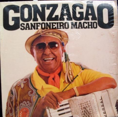 lp luiz gonzaga - gonzagão sanfoneiro macho - 1985 - estereo