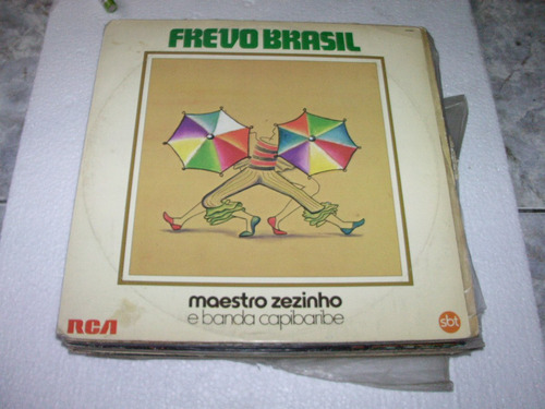 lp maestro zezinho, banda capibaribe, frevo brasil