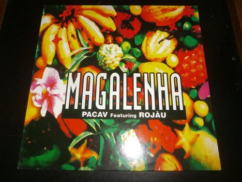 lp magalenha - pacav featuring rojau, disco vinil seminovo