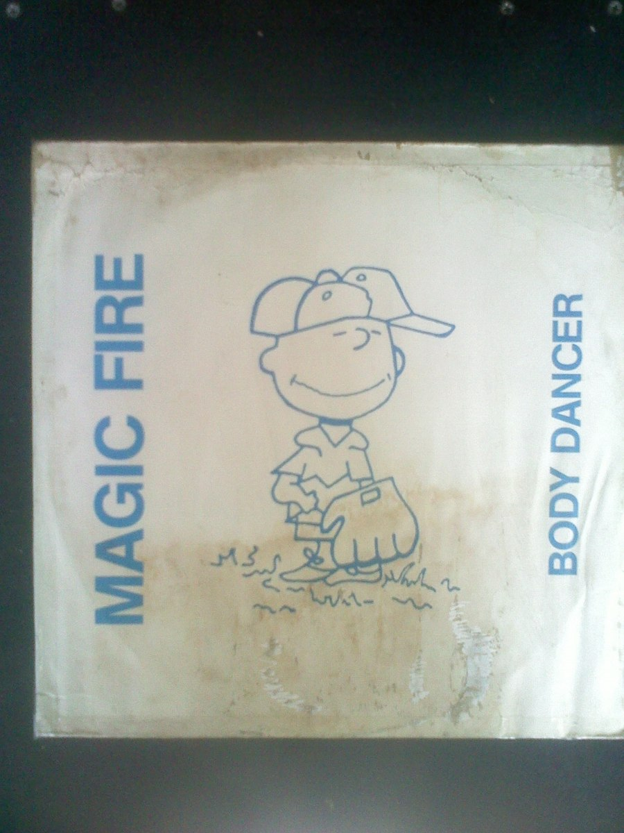 Magic Fire Body Dancer