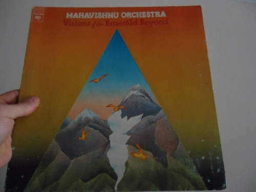 lp - mahavishnu orchestra - visions of the emerald beyond -
