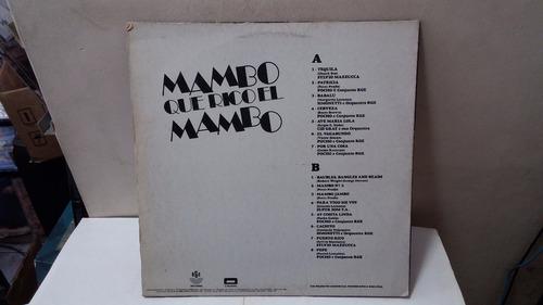lp mambo que rico el mambo 1993  ja 40