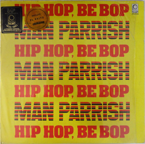 lp man parrish hip hop, be bop (don't stop)
