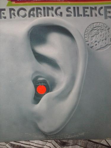 lp - manfred mann´s- the roaring silence   - importado
