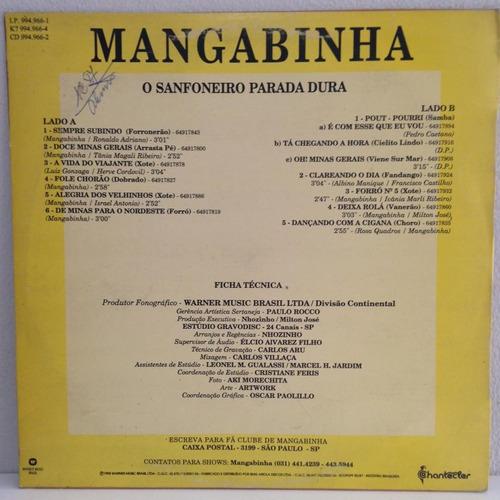 lp mangabinha (o sanfoneiro parada dura) hbs