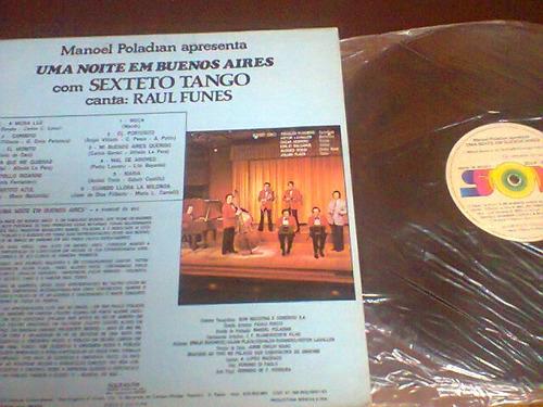 lp manoel poladian - uma noite em buenos aires-sexteto tango