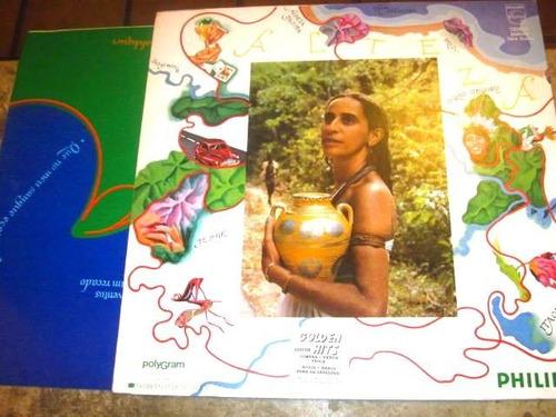 lp maria bethania - alteza (1981)c/ rosinha valença +encarte