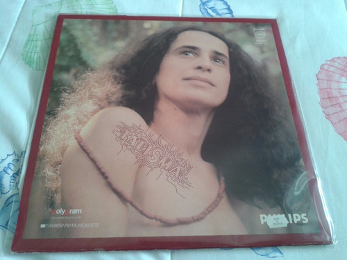 lp maria bethania - talismã importado portugal arte capa dif