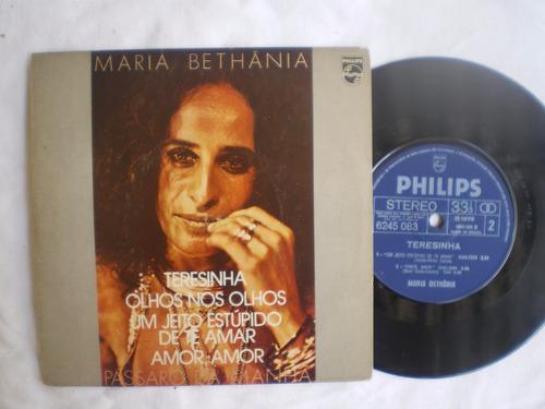 lp - maria bethãnia / teresinha / philips / 1978
