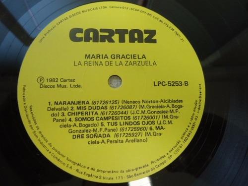 lp maria graciela la reina de la zarzuela 1982