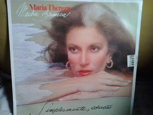 lp -maria thereza  mecha branca  simplismente coração 1979