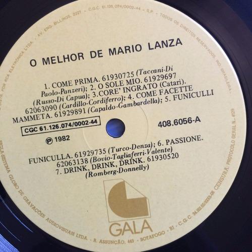 lp mario lanza ( apresenta o melhor )