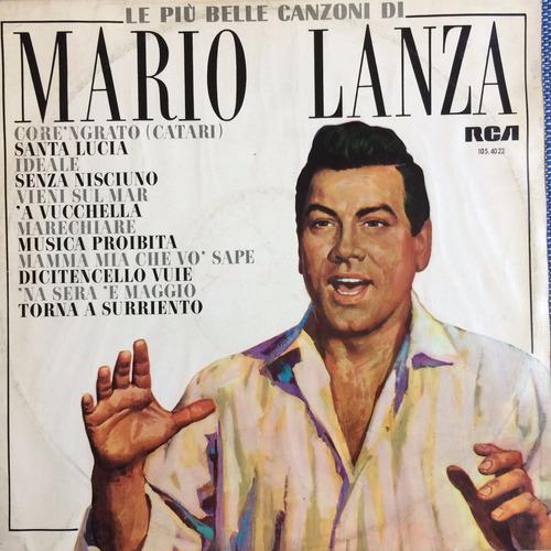 lp mario lanza ( le piu belle canzoni )
