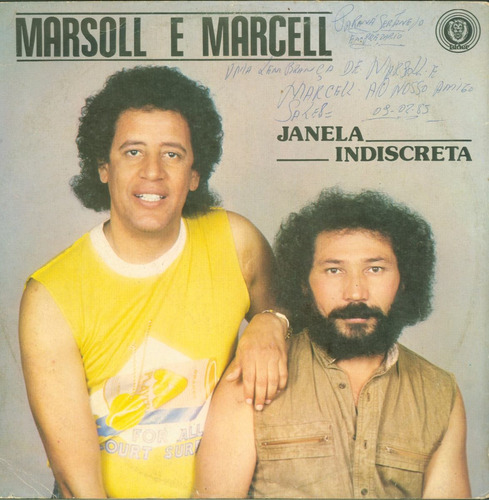 lp marsoll e marcell - janela indiscreta - 1984