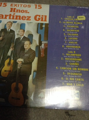 lp martinez gil 15 exitos