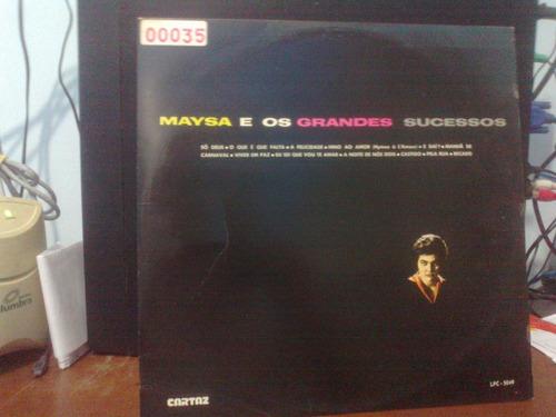 lp - maysa - maysa e os grandes sucessos