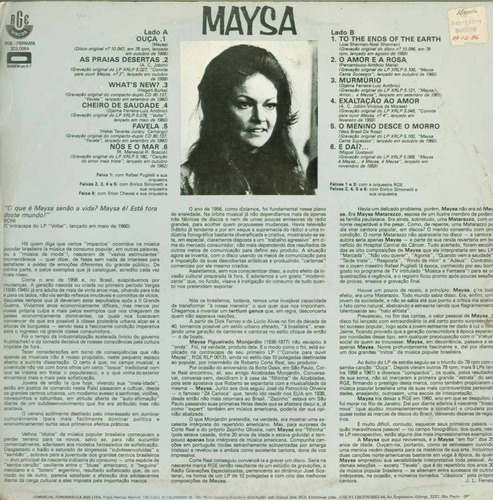 lp maysa - retrospecto vol 3 - 1979 - rge
