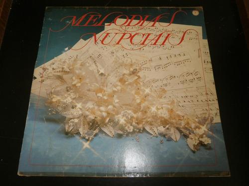 lp melodias nupciais, diversos, disco vinil, ano 1989