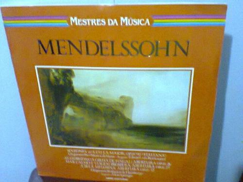 lp mendelssohn/sinfonia nº 4,hébridas,melusina  frete grátis