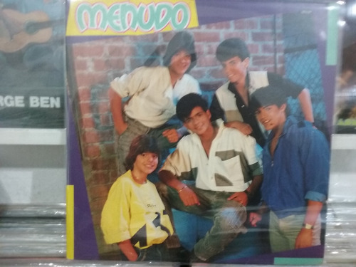 lp menudo - 1985