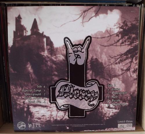 lp mercy - underground - candlemass - raro 250 cópias