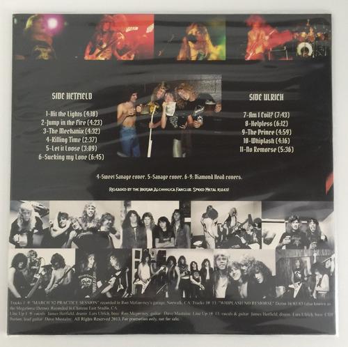 lp metallica garage days revisited vinyl red importado 2013