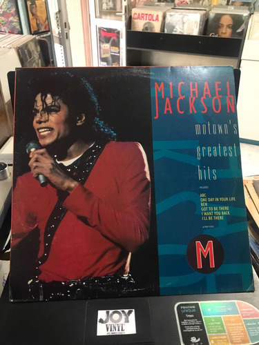 lp- michael jackson (motowns greatest hits)