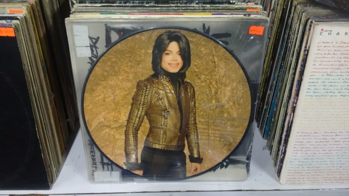 Lp Michael Jackson Xcape Picture Disc Parte 1 2 Long Play