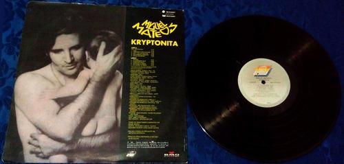 lp miguel mateos kriptonita (álbum-vinilo)