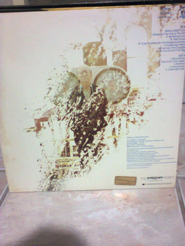 lp mike rutherford smallcreep's genesis p/colecionador