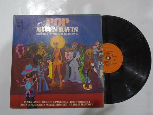 lp - miles davis / pop / cbs / 1973 / hermeto pascoal- airto