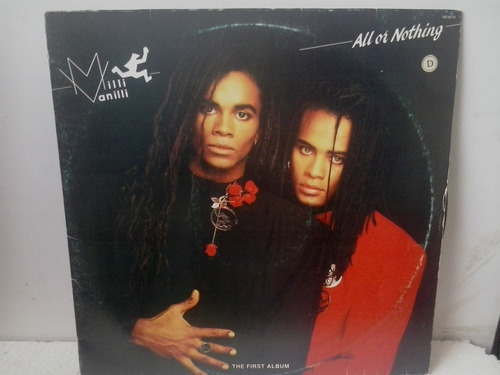 lp milli vanilli all or nothing - the first album