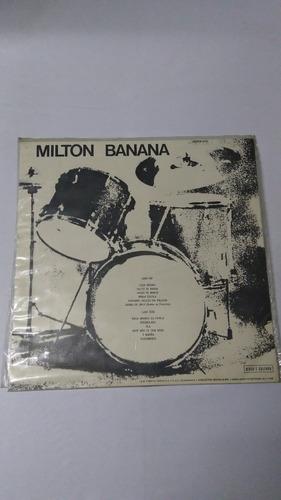 lp milton banana 1972 essa menina/ excelente estado