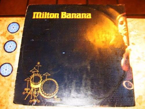 lp milton banana - fato consumado (1975)