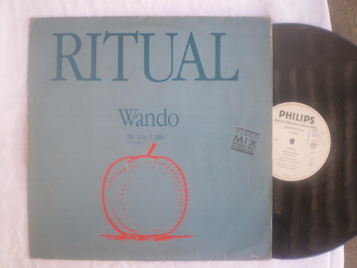 lp mix - wando / ritual / philips / 1988