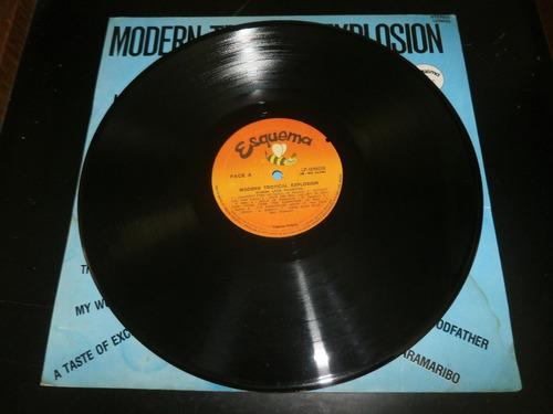 lp modern tropical explosion - modern latin orchestra, vinil