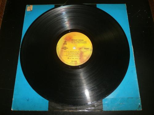 lp moonlight serenade - golden glenn miller sound, ano 1970