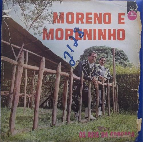 lp moreno e moreninho (os reis da congada) original chantecl