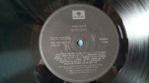lp morrissey - viva hate (nacional)