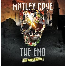 Lp Motley Crue The End Live In Los Angeles 2lps + Dvd Novo